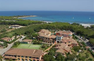 Italy, Sardinia, Orosei, Hotel Nicolaus Club Torre Moresca
