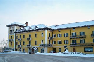 Italy, Folgaria - Lavarone - Luserna, Chiesa, Grand Hotel Astoria