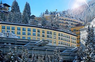 Austria, Gasteinertal, Bad Gastein, Hotel Elisabethpark