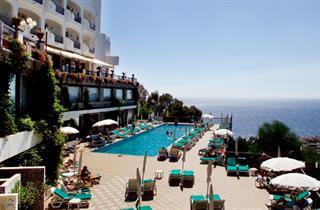 Italy, Sicily, Letojanni, Hotel Olimpo - Le Terrazze