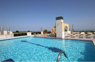 Italy, Northern Adriatic Riviera, Eraclea Mare, Hotel Eraclea Palace