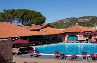 Italy, Sardinia, Arzachena, Hotel Club Esse Cala Bitta