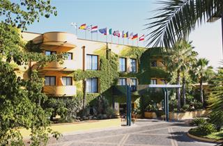 Italy, Sicily, Giardini-Naxos, Hotel Caesar Palace
