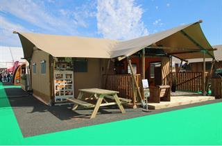 Croatia, Istria, Vrsar, Camping VALKANELA - Mobile Homes & Lodge Tents