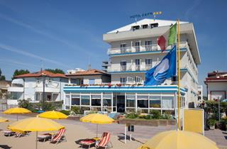 Italy, Northern Adriatic Riviera, Jesolo, Hotel Gritti