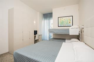 Italy, Central Adriatic Riviera, Cattolica, Hotel Elite