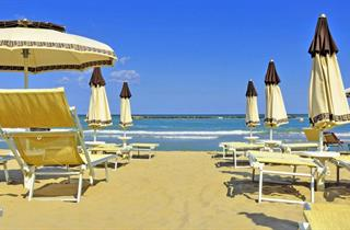 Italy, Central Adriatic Riviera, Riccione, Hotel Nuova Riccione