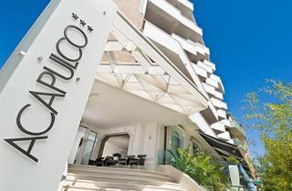 Italy, Central Adriatic Riviera, Cattolica, Hotel Acapulco