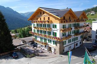 Italy, Val di Fassa - Carezza, Vigo di Fassa, Hotel Rosa