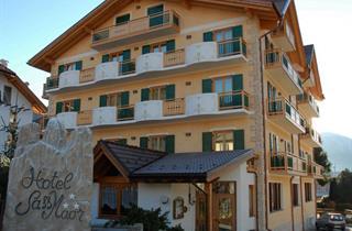 Italy, San Martino di Castrozza (Passo Rolle), Fiera di Primiero, Hotel Sass Maor