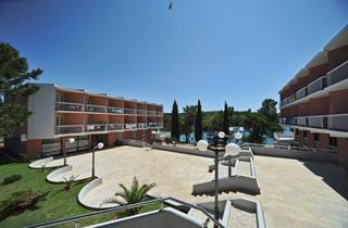 Croatia, Istria, Banjole, Resort Centinera MOBILE HOMES