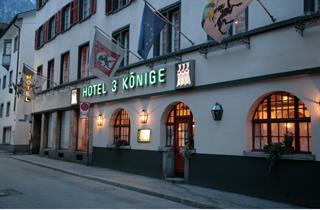 Switzerland, Arosa - Lenzerheide, Chur, Hotel Drei Könige