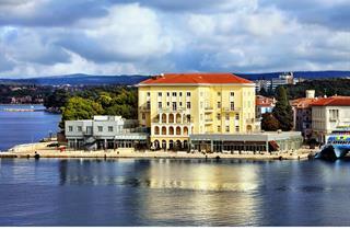 Croatia, Istria, Porec, Grand Hotel Palazzo
