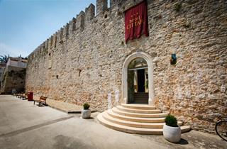 Croatia, Istria, Novigrad Istria, Hotel Cittar