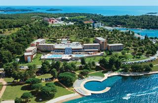 Croatia, Istria, Porec, Hotel Laguna Molindrio