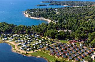 Croatia, Istria, Rovinj, Camping Maistra MH Polari