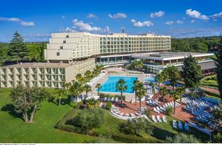 Croatia, Istria, Porec, Hotel MATERADA Plava Laguna