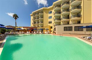 Italy, Sardinia, Alghero, Hotel Rina