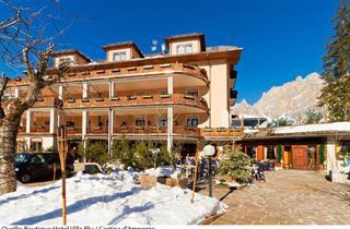 Italy, Cortina d'Ampezzo, Boutique Hotel Villa Blu