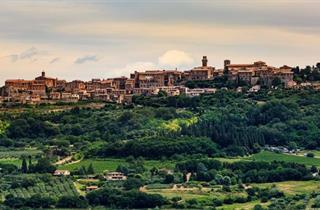 Italy, Tuscany, Montepulciano, Hotel Borgo Tre Rose