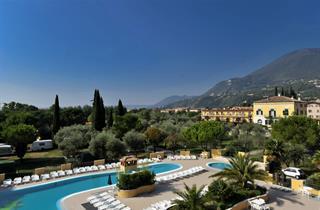 Italy, Lake Garda, Toscolano Maderno, Camping Toscolano