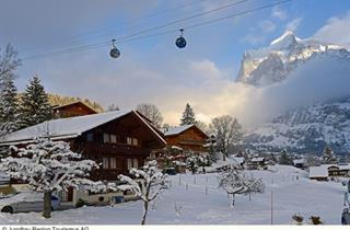 Switzerland, Jungfrau, Grindelwald, Hotel Eigerblick