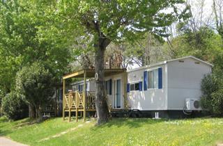 Italy, Lake Garda, Moniga del Garda, Camping Fontanelle