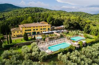 Italy, Tuscany, Figline Valdarno, Villa La Palagina