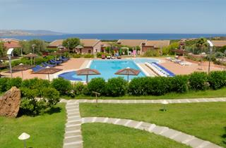 Italy, Sardinia, Stintino, Cala Rosa Club Hotel