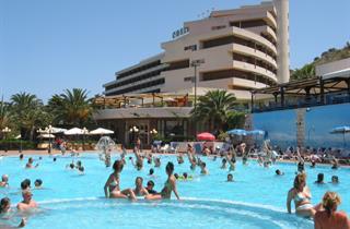 Italy, Sicily, Cefalu, Club Hotel Costa Verde
