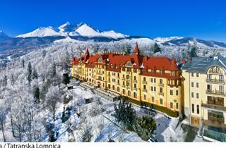 Slovakia, Hrebienok-Stary Smokovec, Vysoké Tatry, Grandhotel Praha