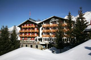 Switzerland, Saas Fee – Saastal, Saas Fee, Hotel Swiss Family Alphubel
