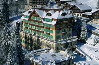 Switzerland, Jungfrau, Wengen, Hotel Belvedere