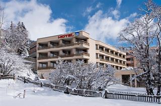 Switzerland, St. Moritz – Engadin, Samedan, Hotel Quadratscha