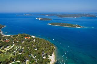 Croatia, Istria, Pula, Brioni Sunny Camping