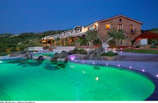 Italy, Sardinia, Arzachena, Hotel Pulicinu