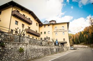Italy, Cortina d'Ampezzo, San Vito di Cadore, Hotel Casa Montana Santa Maddalena
