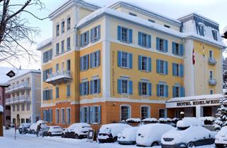 Switzerland, St. Moritz – Engadin, Sils im Engadin/Segl, Hotel Edelweiss