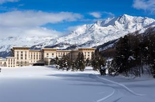 Switzerland, St. Moritz – Engadin, Maloja, Hotel Maloja Palace