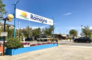 Italy, Central Adriatic Riviera, Riccione, Camping Romagna Village