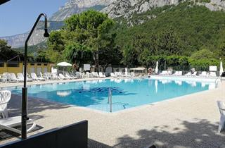 Italy, Lake Garda, Dro, Camping Daino