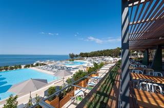 Croatia, Istria, Rovinj, Ferienanlage Amarin