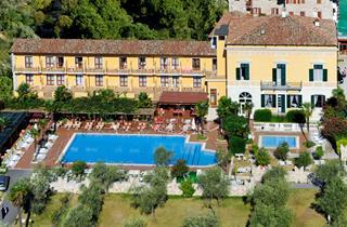 Italy, Lake Garda, Toscolano Maderno, Hotel Antico Monastero Suite