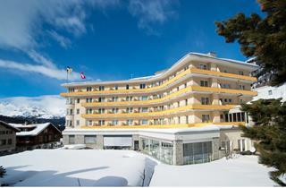 Switzerland, St. Moritz – Engadin, Pontresina, Hotel Schweizerhof