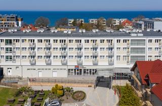 Poland, Baltic Sea Coast, Ustronie Morskie, Alka Sun Resort