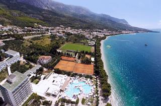 Croatia, Makarska Riviera, Tučepi, Hotel Smartline Bluesun Neptun & Maslinik
