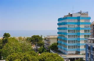 Italy, Central Adriatic Riviera, Riccione, Hotel Cristallo