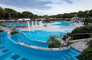 Italy, Northern Adriatic Riviera, Cavallino, Camping Ca' Pasquali Village