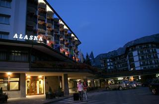 Italy, Cortina d'Ampezzo, Hotel Alaska