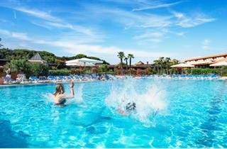 Italy, Tuscany, San Vincenzo, Life Resort Garden Toscana